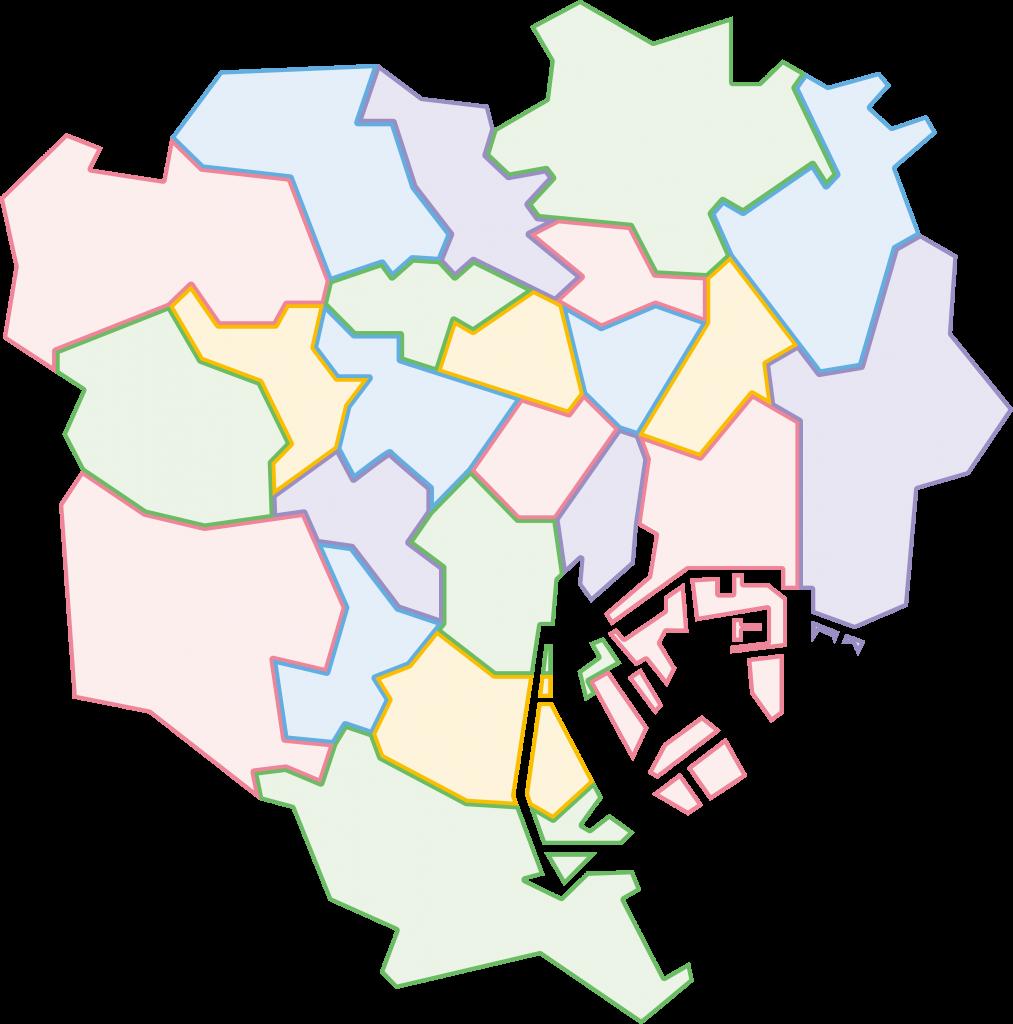 事業エリアを東京23区としております。但し、23区の近郊であれば営業活動を実施致します。